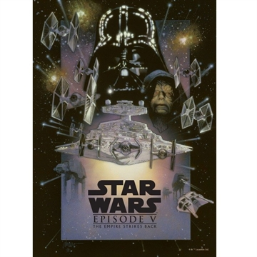 Star Wars - The Empire Strikes Back - 32 x 45 cm Metal Skilt