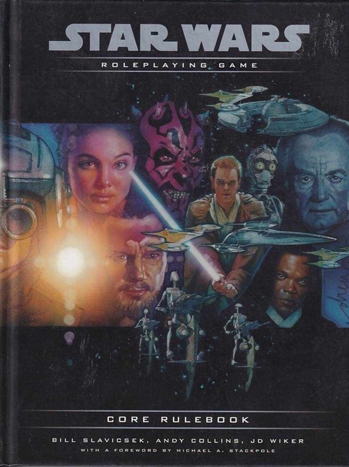 Star Wars D20 - Roleplaying Game - Core Rulebook (B Grade) (Genbrug)