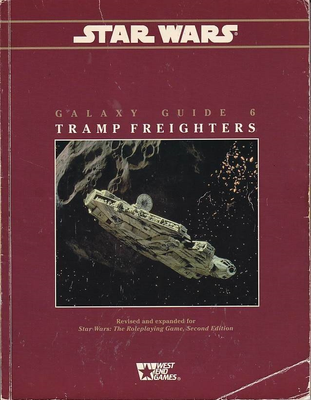 Star Wars D6 - Galaxy Guide 6 Tramp Freighters (Genbrug)