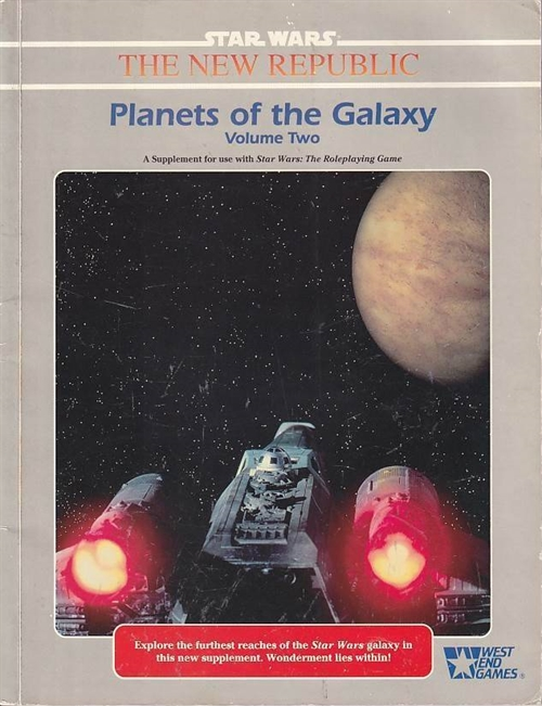 Star Wars D6 - Planets of the Galaxy Vol. 2 (Genbrug)