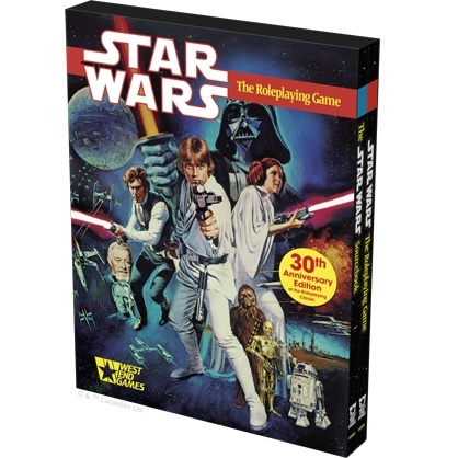 Star Wars D6 RPG - 30th Anniversary Ed. West End