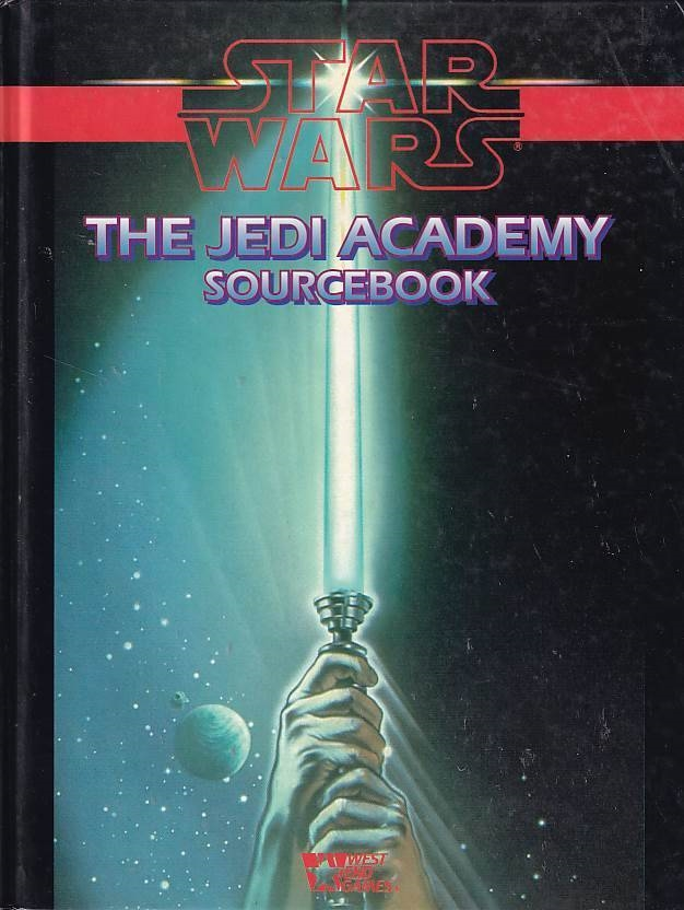 Star Wars D6 The Jedi Academy Sourcebook (B Grade) (Genbrug)