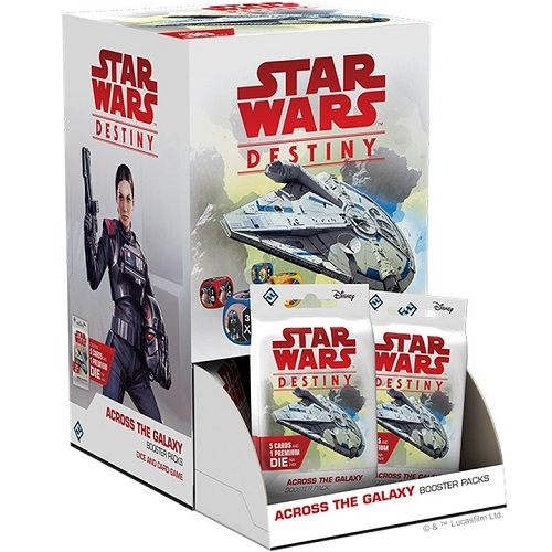 Star Wars Destiny - Across the Galaxy - Booster Box Display (36 Booster Pakker)