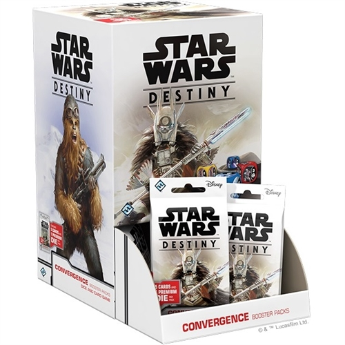 Star Wars Destiny - Convergence Booster Box Display (36 Booster Pakker)
