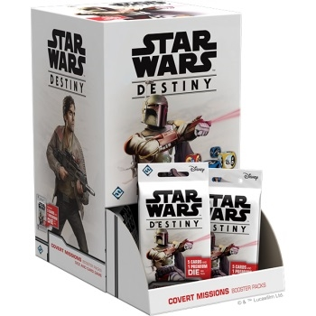Star Wars Destiny - Covert Missions - Booster Box Display (36 Booster Pakker)