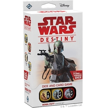 Star Wars Destiny - Legacies - Boba Fett Start pakke