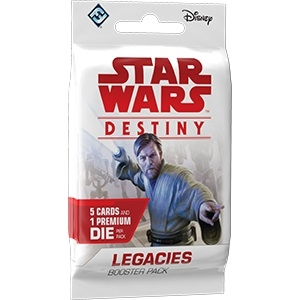Star Wars Destiny - Legacies - Booster Pakke
