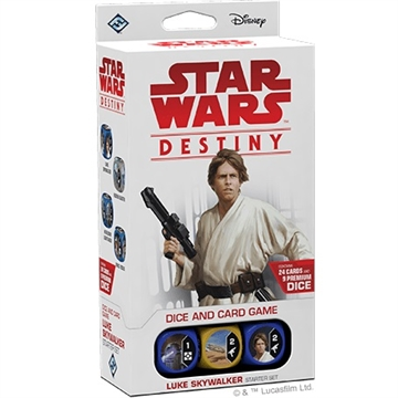 Star Wars Destiny - Legacies - Luke Skywalker Start pakke