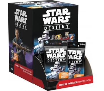 Star Wars Destiny - Spirit of Rebellion - Display  ( 36 Booster Pakker)