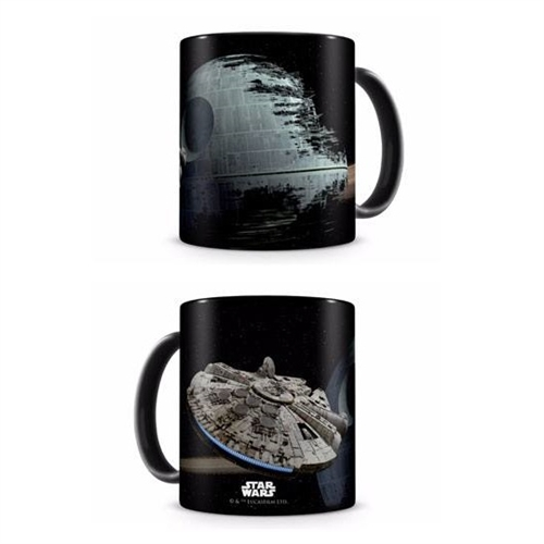 Star Wars Episode VI Krus - Millennium Falcon vs. Death Star
