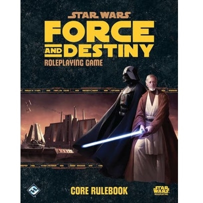 Star Wars Force and Destiny - Core Rulebook (2. Sortering)
