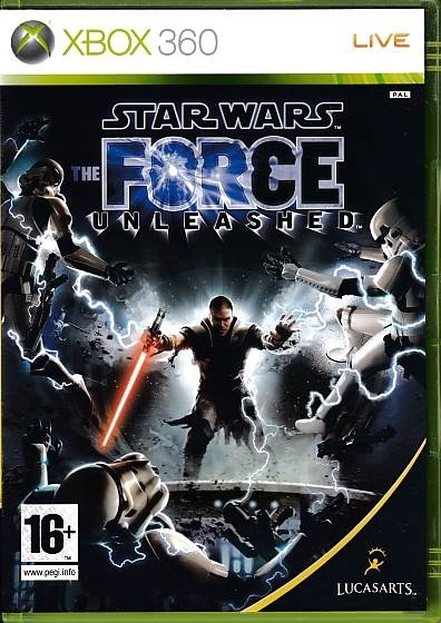 Star Wars The Force Unleashed - XBOX 360 (B Grade) (Genbrug)