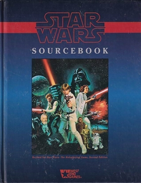 Star wars D6 - Sourcebook 2nd Edition (Genbrug)