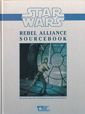 Star wars D6 Rebel Alliance Sourcebook (B-Grade) (Genbrug)