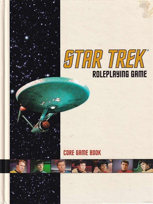 Star Trek  - Core Game Book (B-Grade) (Genbrug)