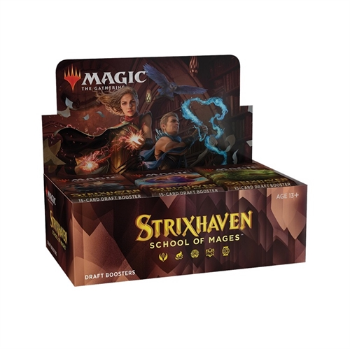 Strixhaven School of Mages - Draft Booster Box Display (36 Booster Pakker) - Magic the Gathering
