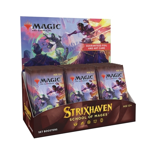 Strixhaven School of Mages - Set Booster Box Display (30 Booster Pakker) - Magic the Gathering