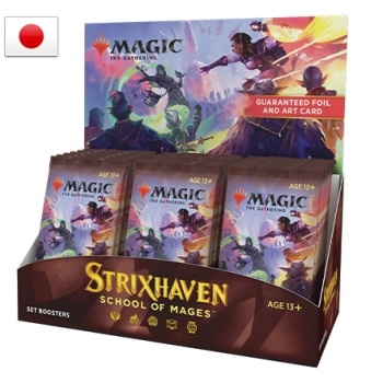Strixhaven School of Mages - Set Booster Box Display - Japenese (30 Booster Pakker) - Magic the Gathering
