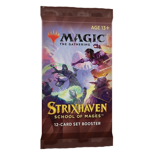 Strixhaven School of Mages - Set Booster Pakke - Magic the Gathering