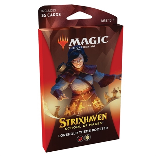 Magic The gathering  - Strixhaven School of Mages - Theme Booster Pakke - Lorehold