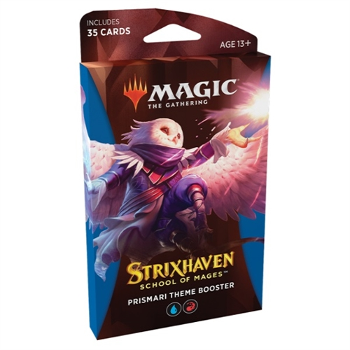 Magic The gathering Strixhaven School of Mages - Theme Booster Pakke - Prismari