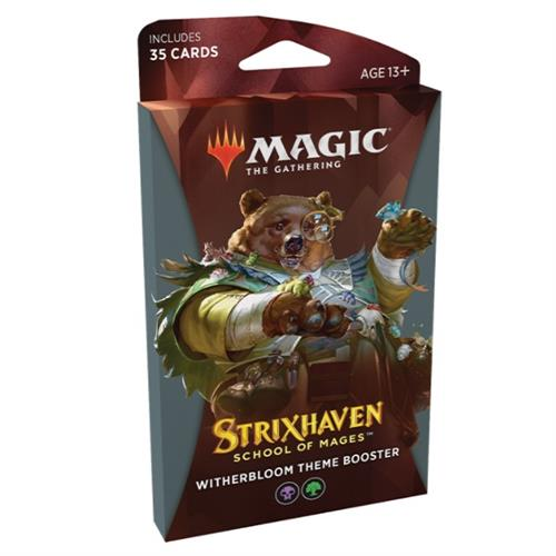 Magic The gathering  Strixhaven School of Mages - Theme Booster Pakke - Witherbloom