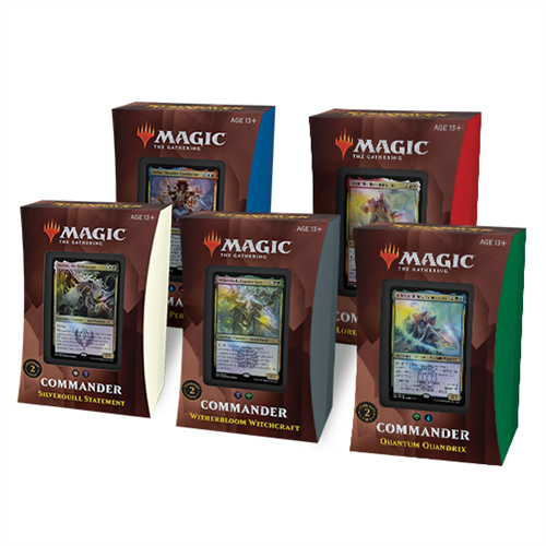 Commander deck alle 5 - Strixhaven School of Mages - Magic The Gathering