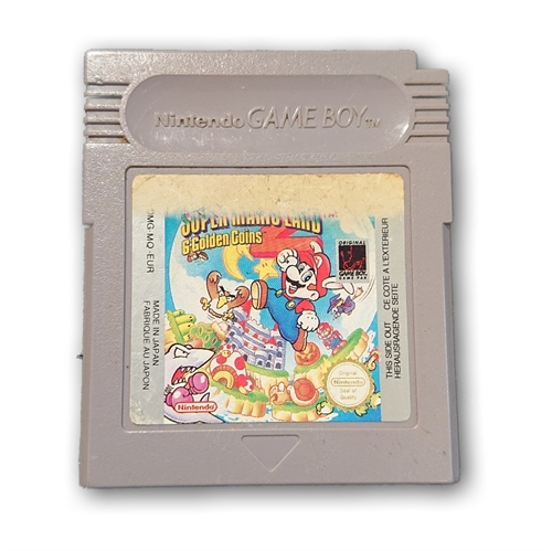 Super Mario Land 2 - 6 Golden Coins - Gameboy original (B-Grade) (Genbrug)