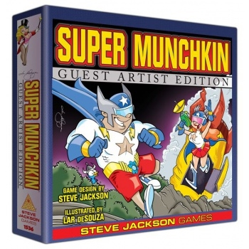 Super Munchkin - Guest Artist Edition - Lar De Souza - Party Game