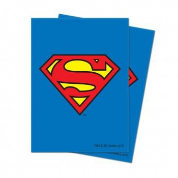 Superman - (65 Standard Sleeves) - Ultra Pro Plastik lommer