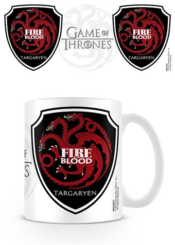 Game of Thrones krus - Targaryen