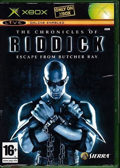 The Chronicles Of Riddick The Escape From Butcher Bay - XBOX (B Grade) (Genbrug)