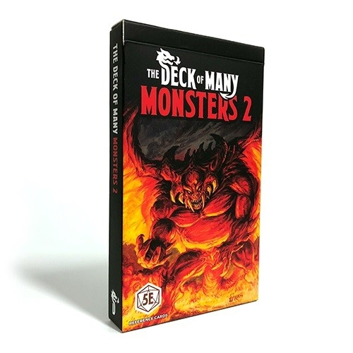 The Deck of Many - Monsters 2