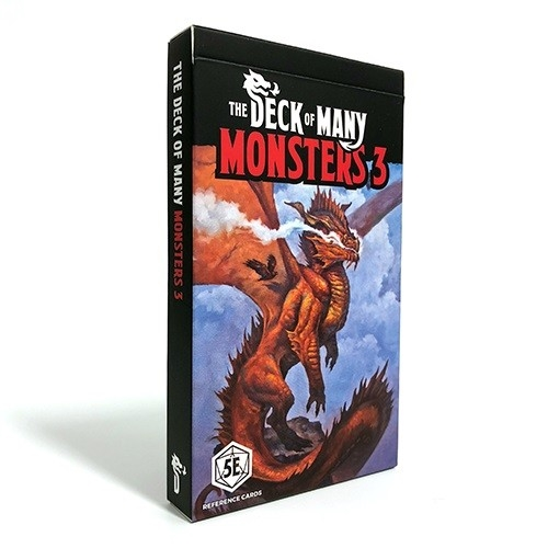 The Deck of Many - Monsters 3