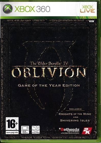 The Elder Scrolls IV Oblivion Game of the Year Edition - XBOX 360 (B Grade) (Genbrug)