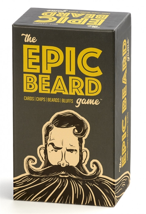 The Epic Beard Game - Party Game