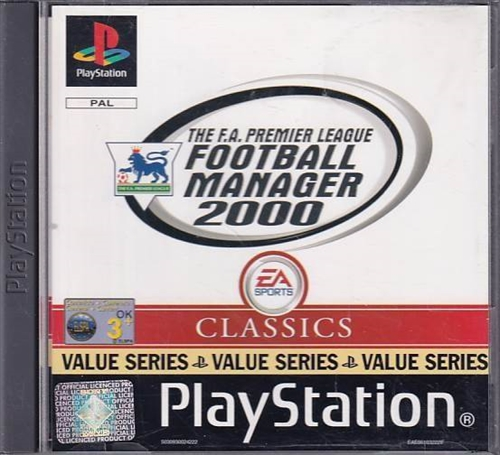 The FA Premier League Football Manager 2000 - PS1 (B Grade) (Genbrug)