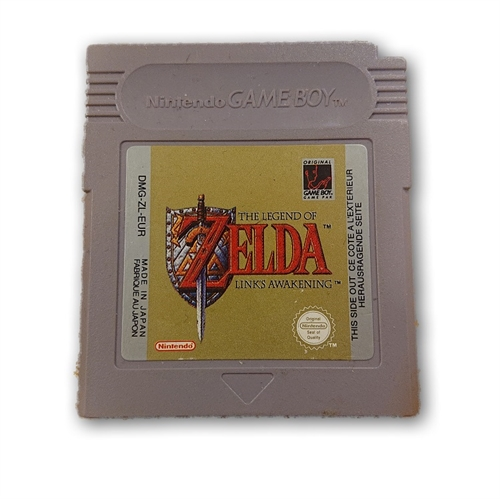 The Legend of Zelda Links Awakening - Gameboy original (A-Grade) (Genbrug)