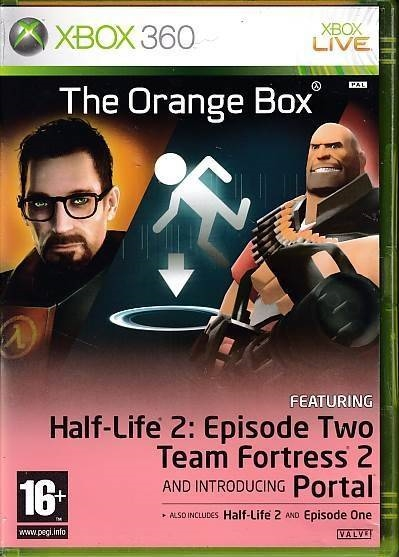 The Orange Box - XBOX 360 (B Grade) (Genbrug)