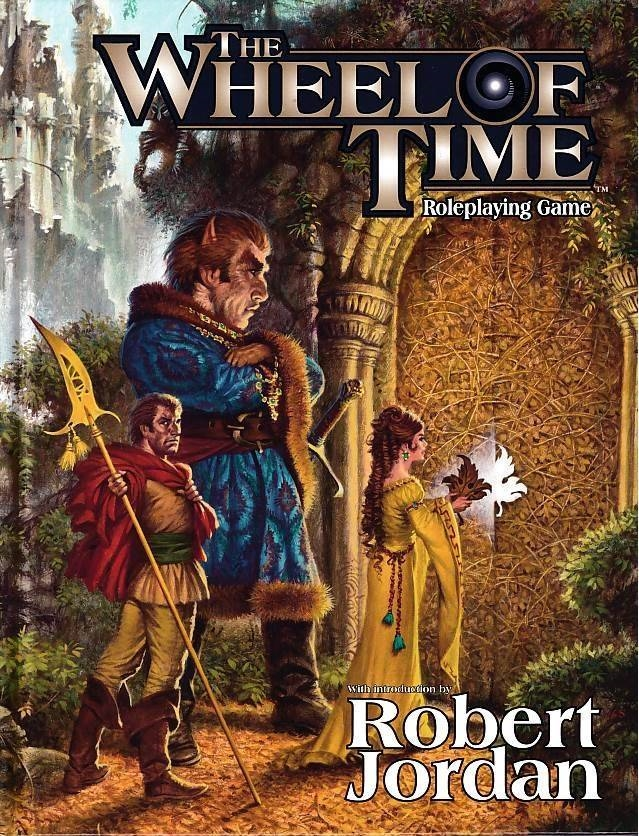 The Wheel of Time - Roleplaying Game (B Grade) (Genbrug)