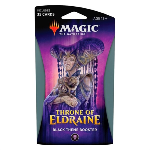 Throne of Eldraine - Black Theme Booster - Magic the Gathering