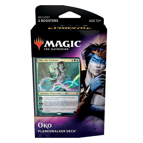 Throne of Eldraine - Oko Planeswalker deck - Magic the Gathering