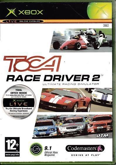 Toca Race Driver 2 Ultimate Racing Simulator - XBOX (B Grade) (Genbrug)