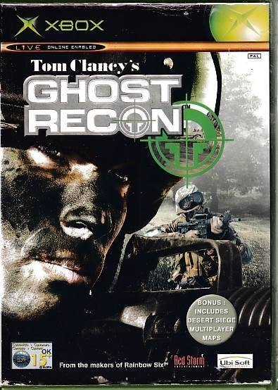 Tom Clancy's Ghost Recon - XBOX (B Grade) (Genbrug)