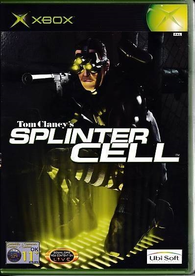 Tom Clancy's Splinter Cell - XBOX (B Grade) (Genbrug)