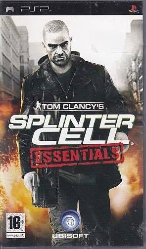 Tom Clancys Splinter Cell Essentials - PSP Spil (Genbrug)