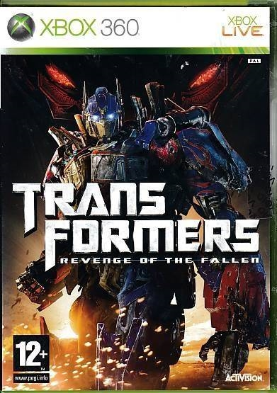 Transformers Revenge of the Fallen - XBOX 360 (B Grade) (Genbrug)