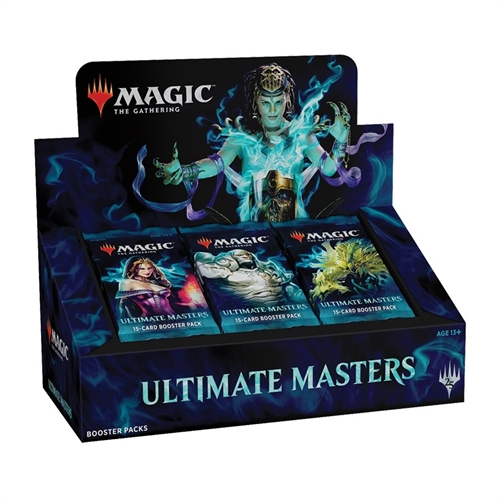 Ultimate Masters - Booster Box Display (24 Booster Pakker) - Magic the Gathering