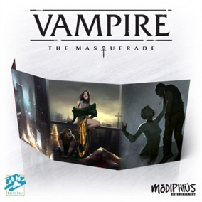 Vampire - The Masquerade 5th Edition -  Storyteller Screen