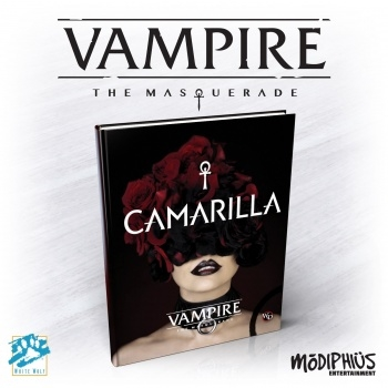 Vampire - The Masquerade 5th Edition -  Camarilla Book